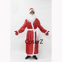 Christmas Santa Claus Cosplay Costume For Adults