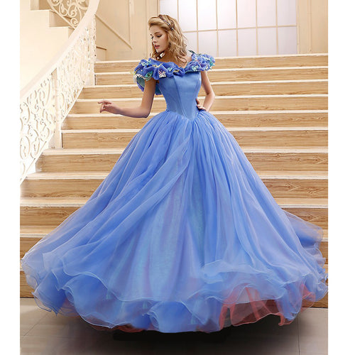 Custom-made Movie Cinderella Dress, Cinderella Costume