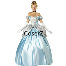 Custom Cinderella Dress Cinderella Cosplay Costume With Gloves