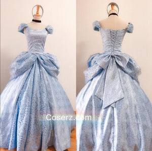 C106 Gorgeous Cinderella Dress Cosplay Costume Park Version