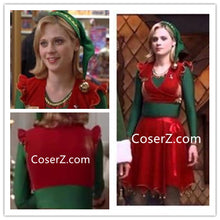 Jovi the Elf Costume Red and Green Jovie Elf Costume Christmas Outfits Plus Size Available