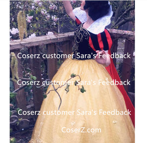 Custom-made Snow White Dress, Princess Snow White Cosplay Costume DS15