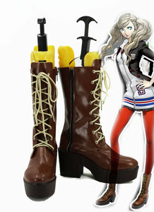 Persona 5 Anne Takamaki Cosplay Shoes Boots