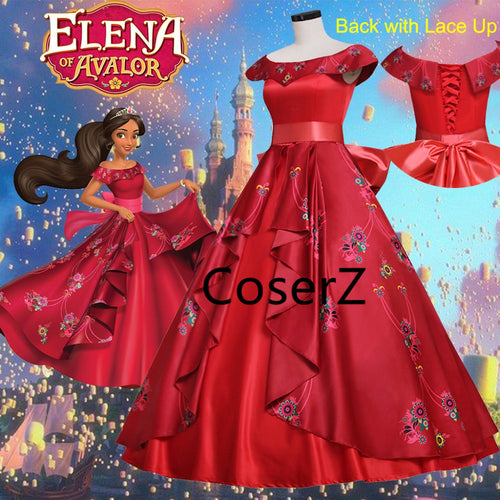 Elena of Avalor Elena Dress, Elena Costume, Elena Cosplay Costume