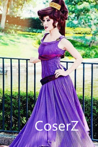 Custom-made Megara Dress, Megara Costume, Megara Cosplay Costume