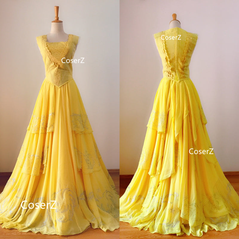 3663fbabc79 ... Beauty and the Beast Movie Princess Belle Costume
