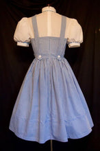 Dorothy Gale Costume, Adult Dorothy Jumper and Blouse Halloween Costume from Wizard of Oz
