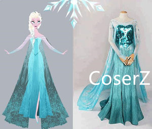 Elsa Dress, Queen Elsa Costume