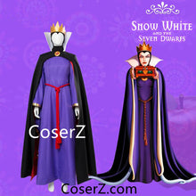 Evil Queen Costume from Snow White Wicked Queen Plus Size Accepted