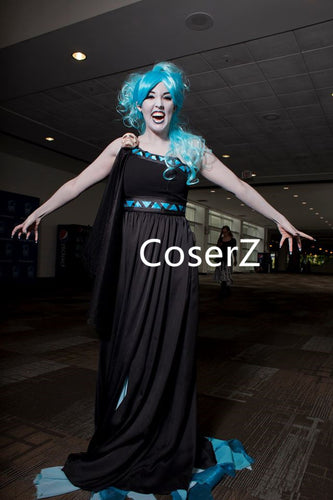 Custom Female Hades Costume, Hades Cosplay Costume Dress for Women