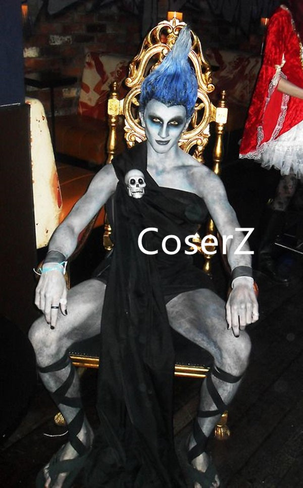 Custom Hades Costume, Hades Halloween Costume for Adults