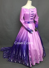 Frozen 2 Act 1 Elsa Costume Elsa Holiday Purple Dress Outfit