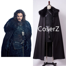 Game of Thrones Jon Snow Costume Halloween Cosplay Costume For Men Full Sets