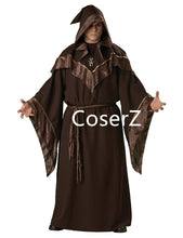 Gothic Wizard Costume European Religious Priest Cosplay Costume
