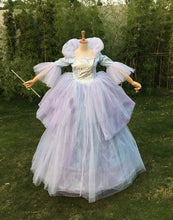 Cinderella Fairy Godmother Costume, Fairy Godmother Dress for Adult