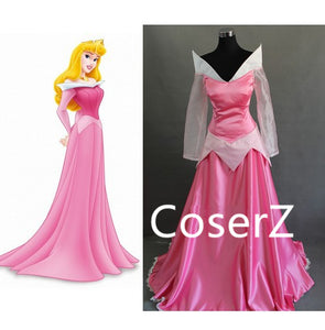 Sleeping Beauty Princess Aurora Dress, Aurora Costume