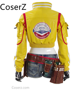 Custom-made Final Fantasy FF15 Cindy Jacket, Cindy Aurum Cosplay Costume