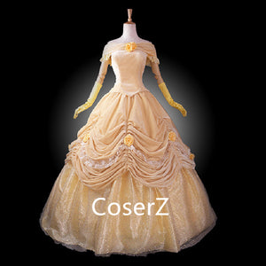 Custom-made Beauty and the Beast Princess Belle Costume Best Style