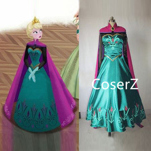 Elsa Coronation Dress, Elsa Coronation Costume