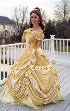 Custom-made Princess Belle Costume, Princess Belle Dress