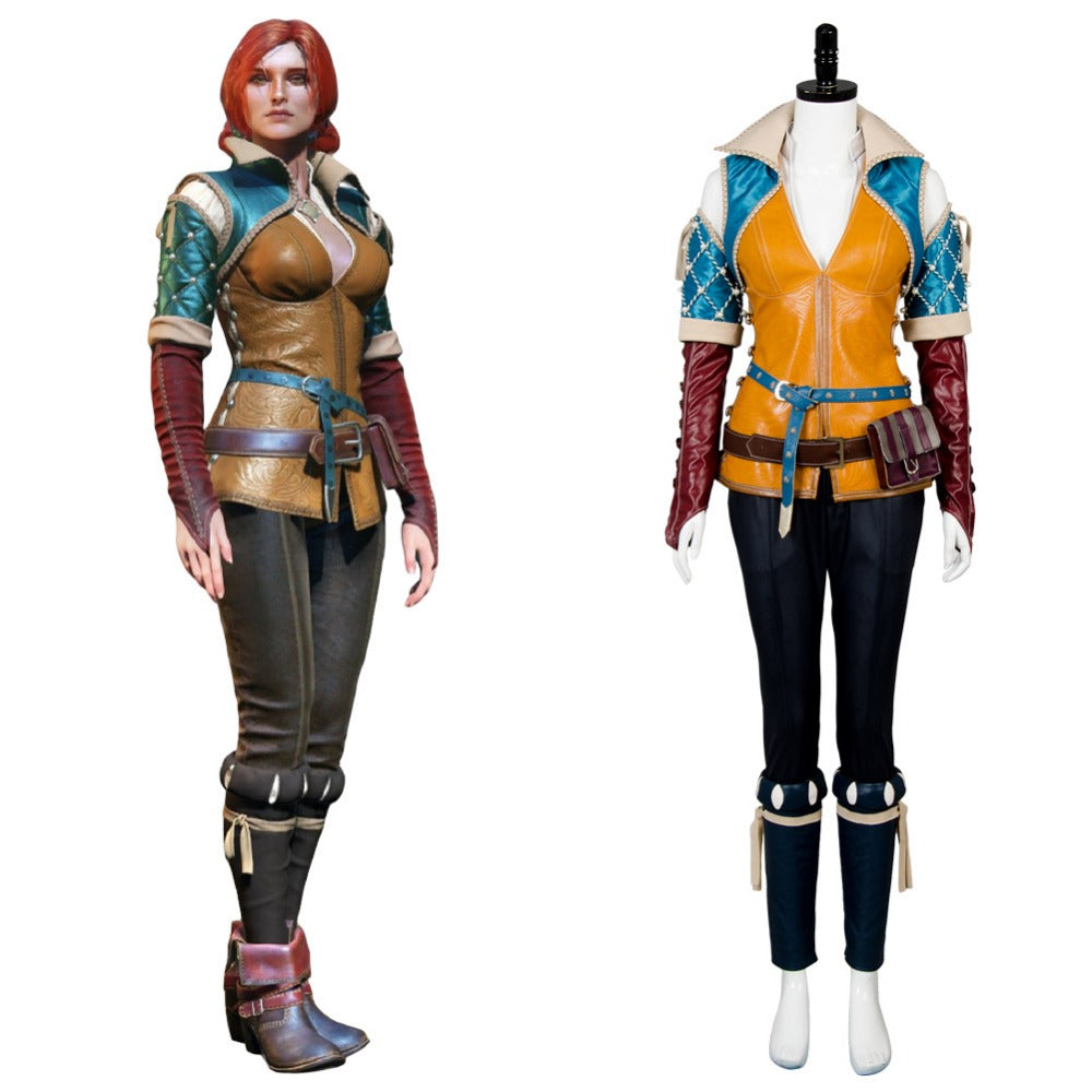 The Witcher 3 Wild cosplay Hunt Triss Cosplay Costume