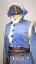 Custom Olaf's Frozen Adventure Anna Dress, Anna Costume, Anna Cosplay Costume