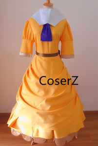 Tarzan Jane Porter Costume, Jane Porter Dress Cosplay Costume for Women Girls