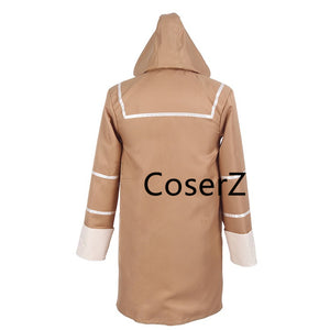 Anime Cosplay No.6 Cosplay Costume, Khaki Cosplay Costume Shion Costume with Parka Jacket