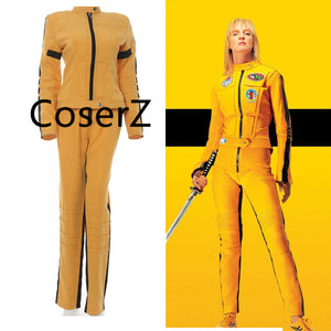 Game of Death Bruce Lee Kill Bill Tracksuit Ninja Costume Cosplay Kill Bill the Bride Costume