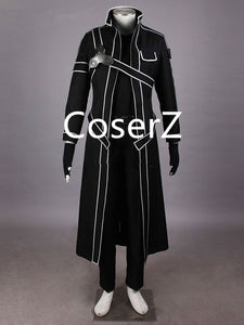 Sword Art Online Kirito Cosplay Costume, Custom Kirito Costume