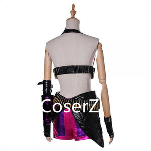 League of Legends LOL Jinx Cosplay Costume
