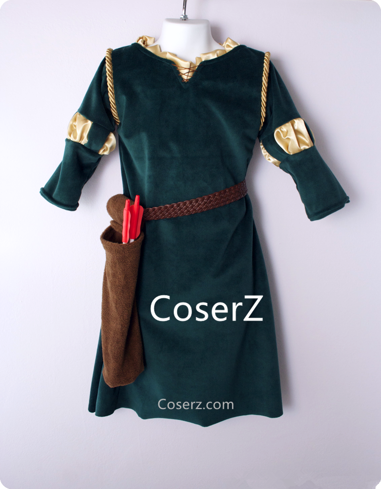 Merida Costume Custom made for Kids
