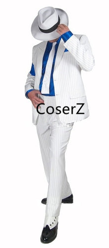 Michael Jackson Cosplay Costume, Michael Jackson Smooth Criminal Suit