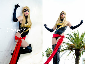 Ms Marvel Kamala Khan Costume, Ms Marvel Cosplay Costume