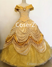 BE529 Beauty and the Beast Belle Dress, Princess Belle Cosplay Halloween Costume
