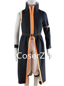 Anime Cosplay Natsu Dragnee Costume With Scarf wrister