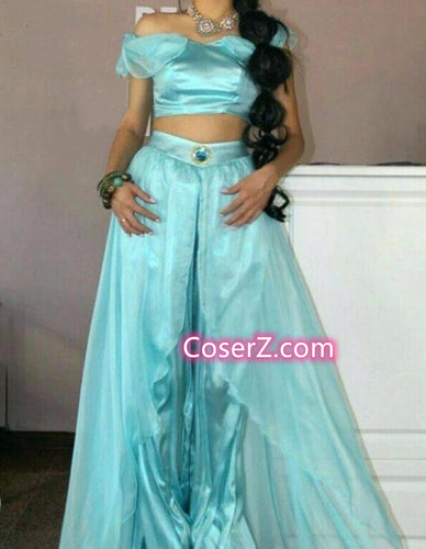 Adult Princess Jasmine Costume for Women Girls Jasmine Outfit