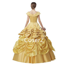 Custom Princess Belle Dress Off the Shoulders Ball Gown Quinceanera Dresses
