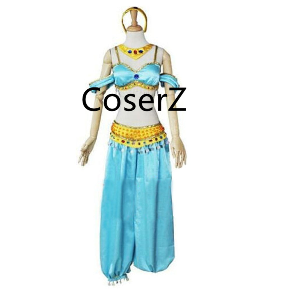 Princess Jasmine Costume Custom Jasmine Cosplay Costume ...  sc 1 st  Coserz : jasmine cosplay costume  - Germanpascual.Com