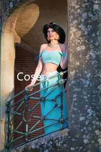 Princess Jasmine Costume for Adults for Girls Halloween Costume without Accessories