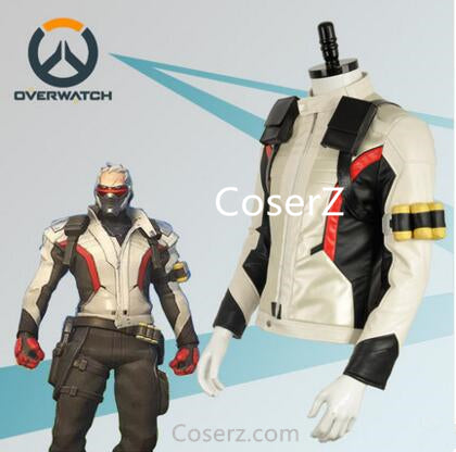 Game Overwatch Soldier 76 Costume Jacket