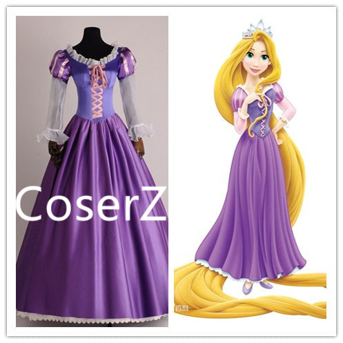 Custom-made Rapunzel Dress, Princess Rapunzel Costume Cosplay