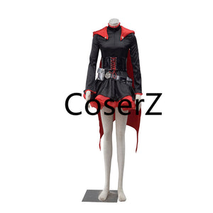 RWBY Red Trailer Ruby Rose Cosplay Costume Ruby Costume for Halloween