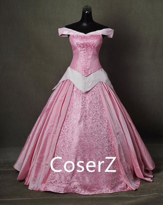 Custom-made Sleeping Beauty Aurora Dress, Princess Aurora Costume Cosplay