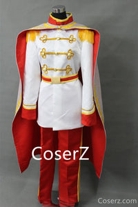 Custom Sleeping Beauty Prince Phillip Costume With Cape