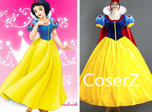 Custom-made Princess Snow White Dress, Snow White Costume