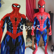 Spiderman Cosplay Costume Zentai Spider Man Bodysuit Jumpsuits
