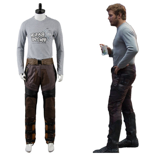 Guardians of the Galaxy 2 Cosplay Star Lord Costume Peter Jason Quill Cosplay Costume