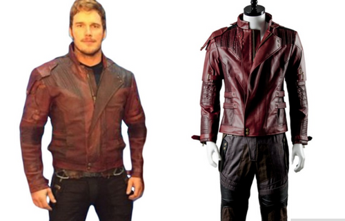 Guardians of the Galaxy 2 Cosplay Peter Jason Quill Jacket Star Lord Jacket