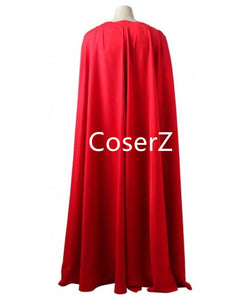 Custom Justice League Superman Costume Clark Kent Cosplay Costume